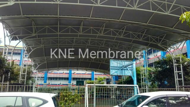 Tenda Membrane BPK Penabur Gading Serpong Tangerang