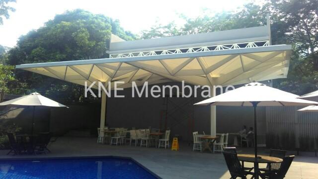 Tenda Membrane Swiss Bell Hotel Pondok Indah Jakarta