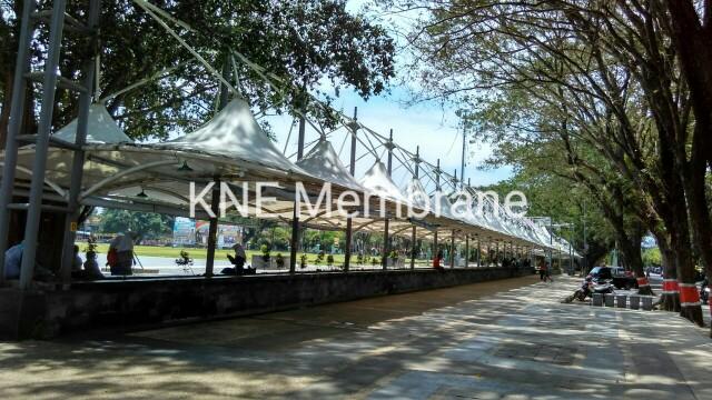 Tenda Membrane Pujasera Alon Grobogan Jateng