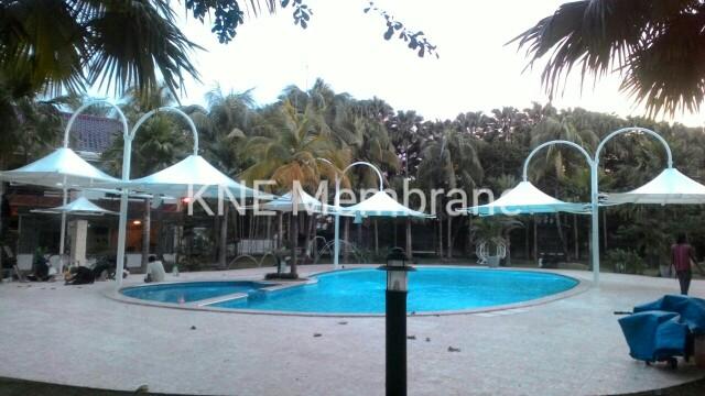 Tenda Membrane Playground Medan