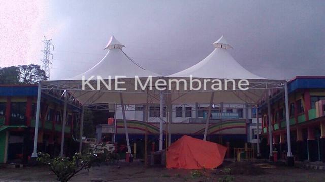Tenda Pameran & Tenda Kafe Membrane